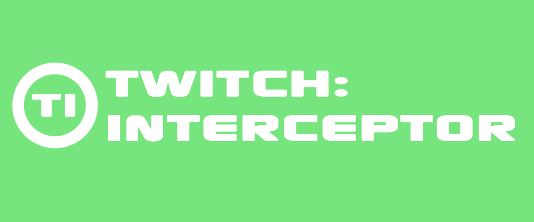 Testament Creative - Twitch Interceptor Header