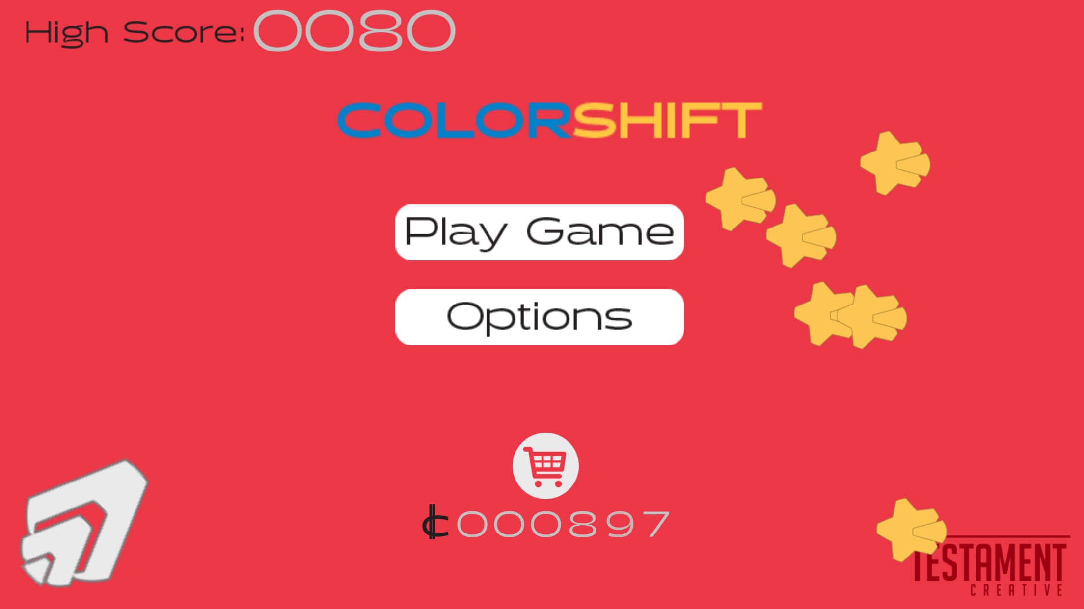 ColorShift Main Screen